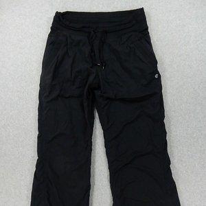 LuLuLemon Lined Dance Studio Pants (Womens Size 6)